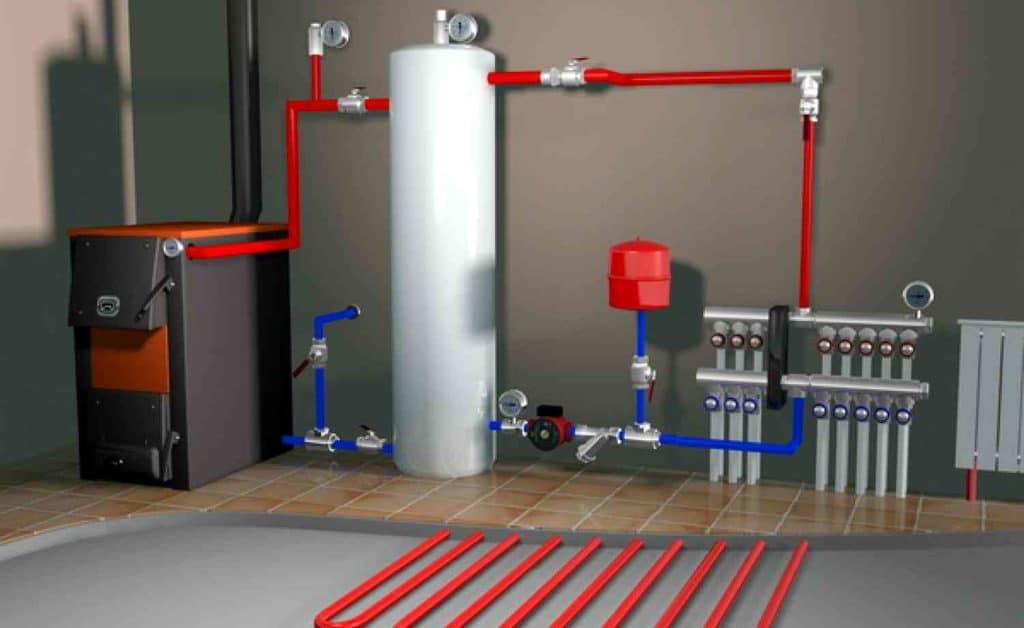 Газовый котел для отопления частного дома своими руками 5