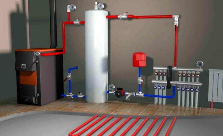 Подпитка системы отопления: схема устройства и принцип работы