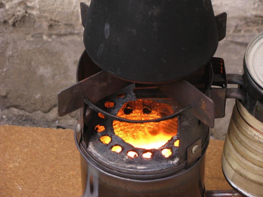 Печь для приготовления пищи на дровах своими руками 98