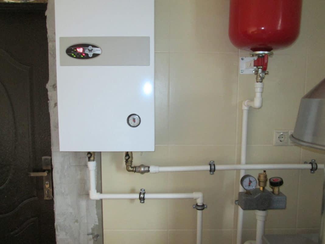 Установка настенного газового котла: монтаж 80