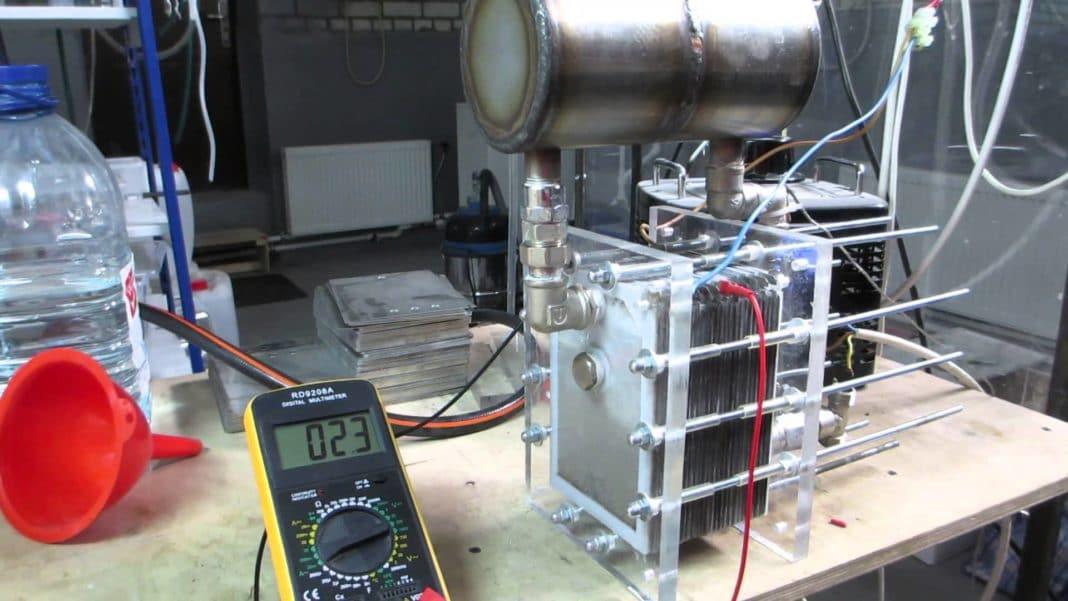 Электролизер водорода своими руками для авто 21
