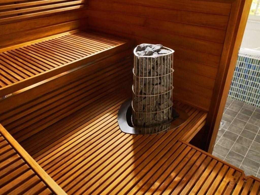 Электрическая финская печь-каменка