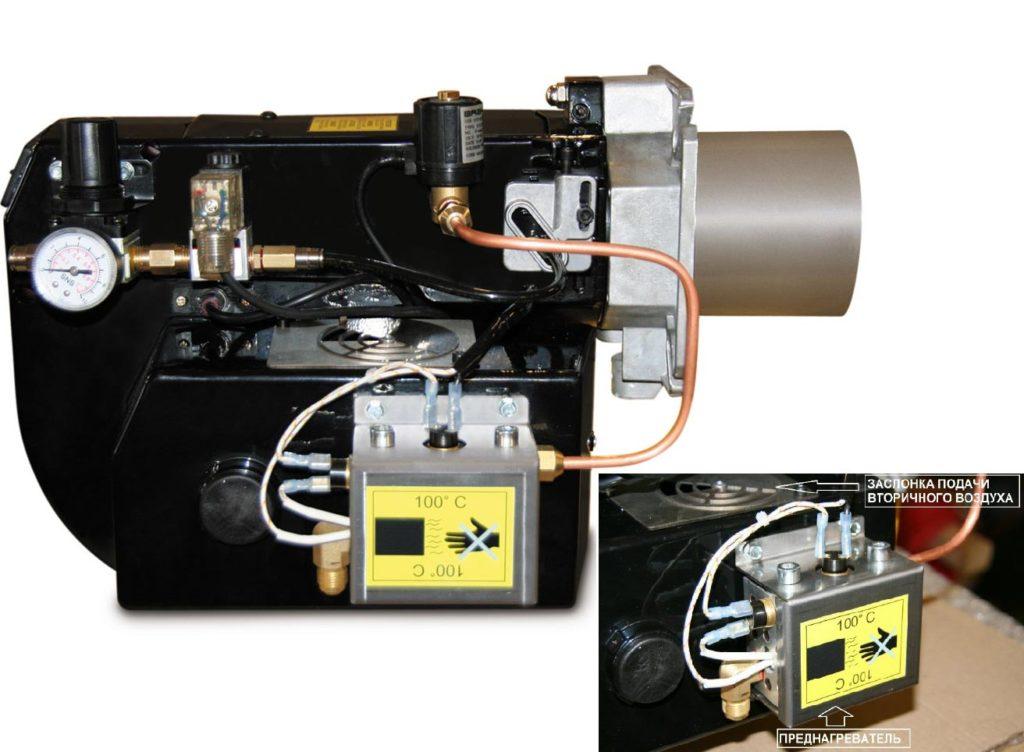 Модулируемая мультитопливная горелка