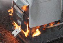 Печь на дизельном топливе