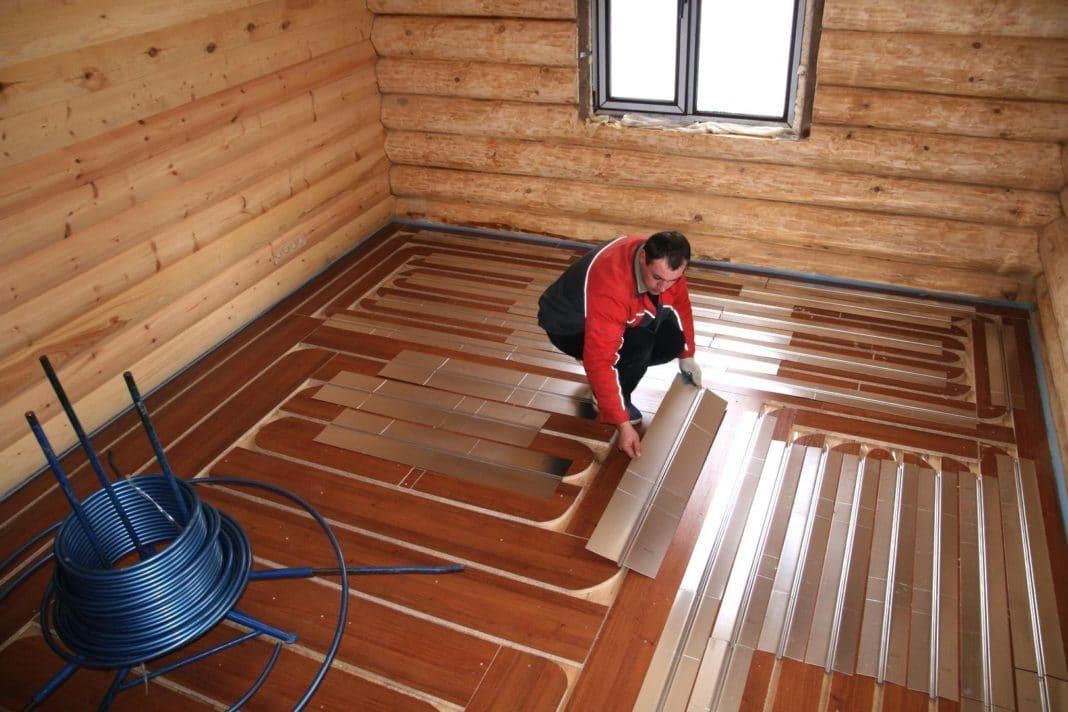 Как сделать электрические теплые полы в бани 823