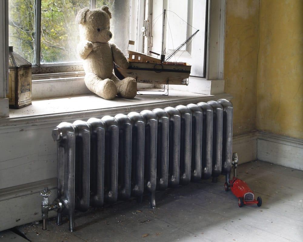 Низкий чугунный радиатор
