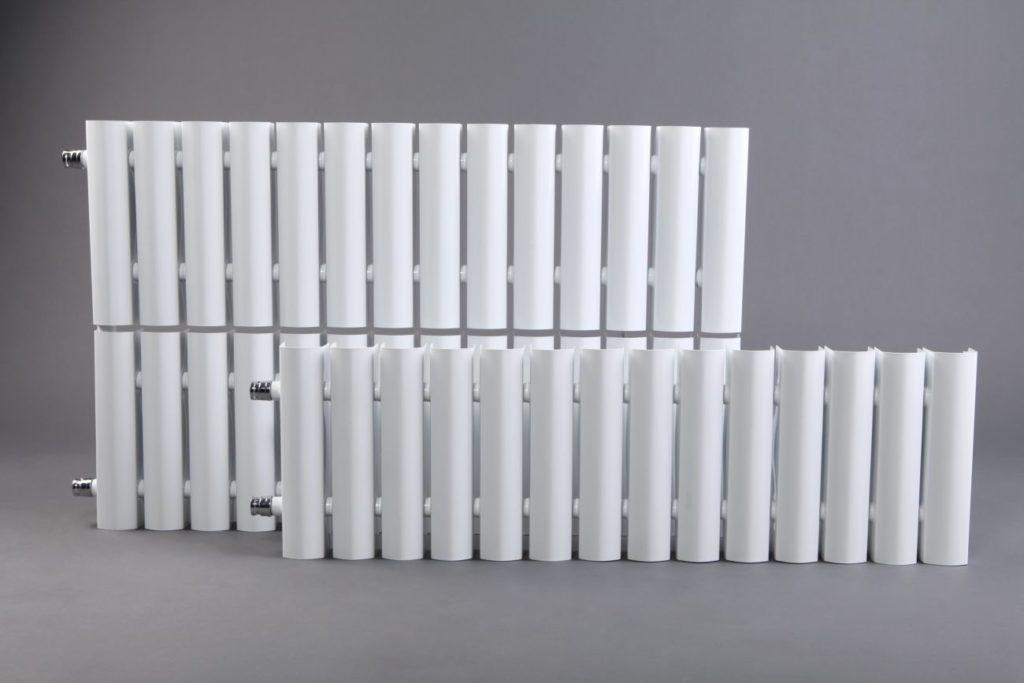 Внешний вид низких радиаторов