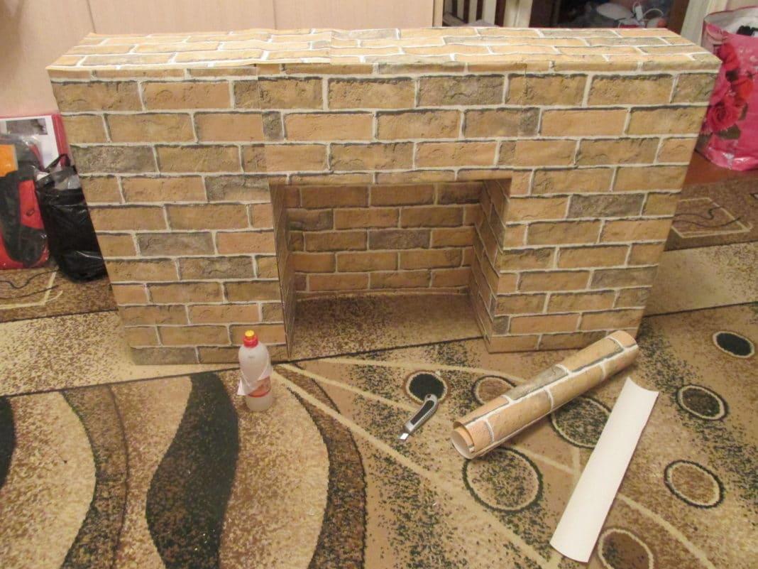 Домашние камины искусственные сделать своими руками