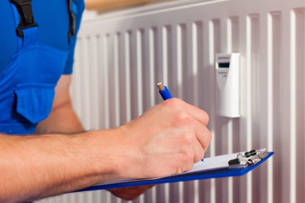 Диагностика радиатора отопления