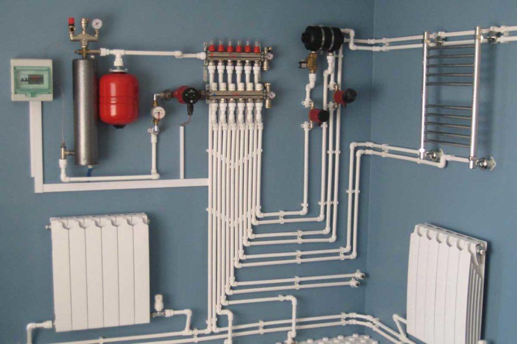 Система водяного отопления