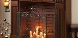 Защитный экран для камина – красота и безопасность вашего дома