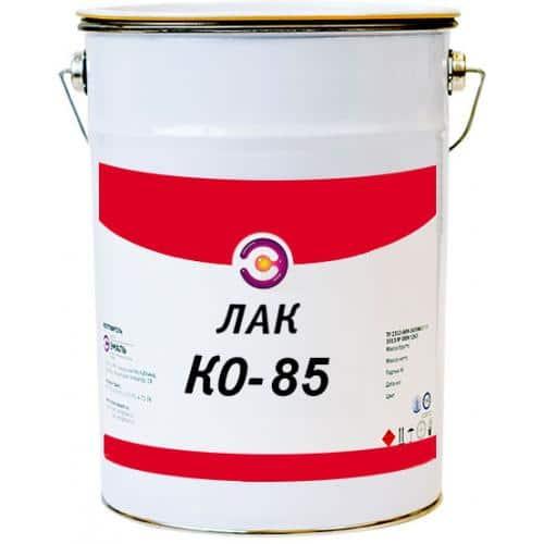 Лак марки КО-85