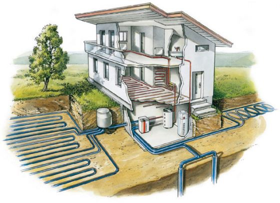 Особенности установки насоса системы воздух-вода