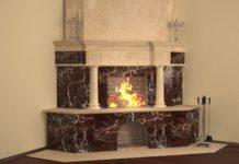 Угловые камины для дома, особенности и рекомендации по возведению