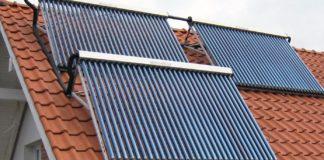 Вакуумный солнечный коллектор для отопления и горячего водоснабжения дома