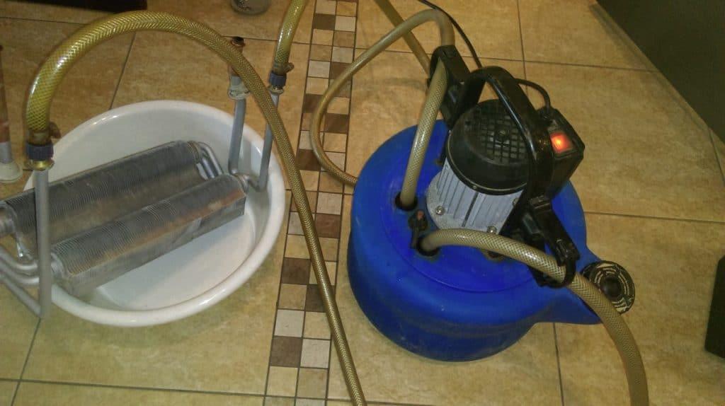 Химия для очистки теплообменников мойка высокого давления для чистки теплообменников