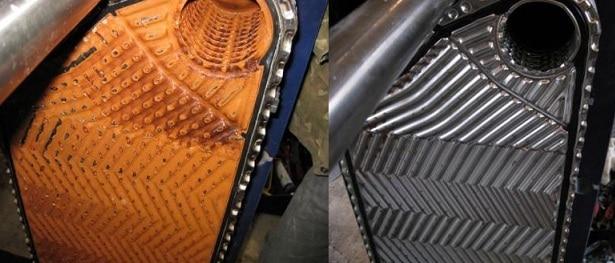 Очистка теплообменника Паяный теплообменник Alfa Laval CB112-46L Одинцово