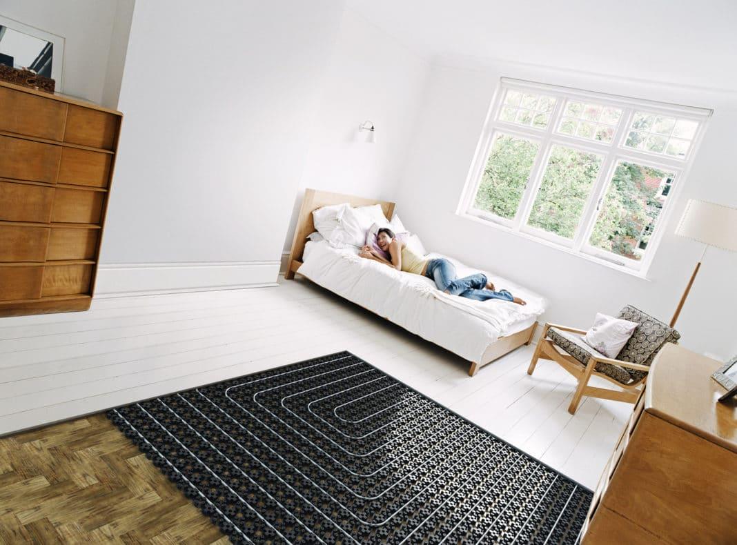 Можно ли на теплый пол ставить мебель