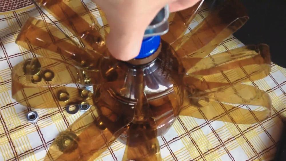 ерш из пластиковой бутылки