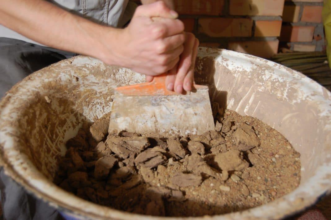 Правильный глиняный раствор