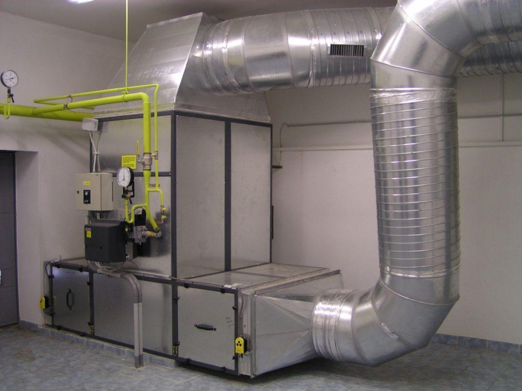 Процесс воздушного отопления