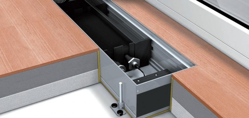 Электрические встроенные радиаторы