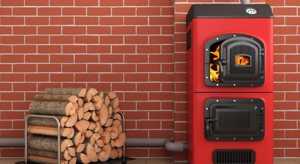 Котёл на дровах и электричестве