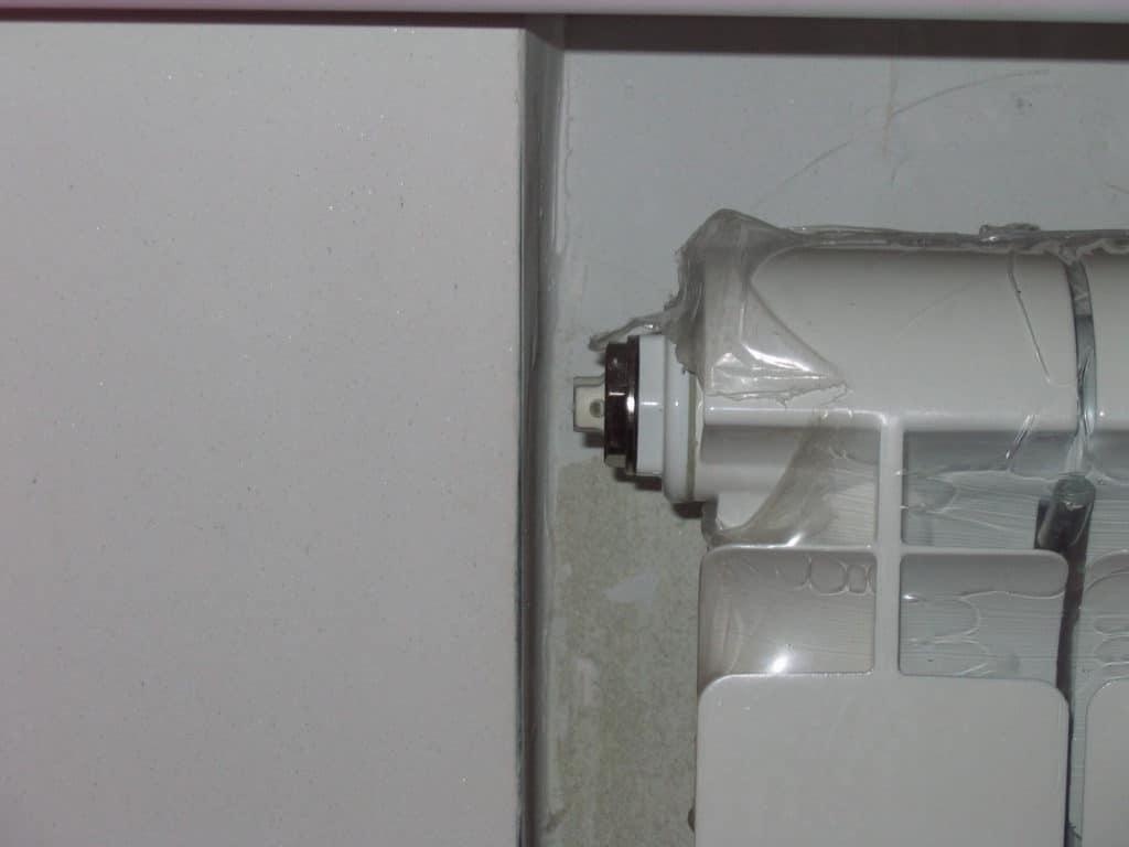 Кран Маевского на радиаторе