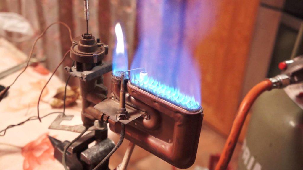 Обслуживание газовой горелки