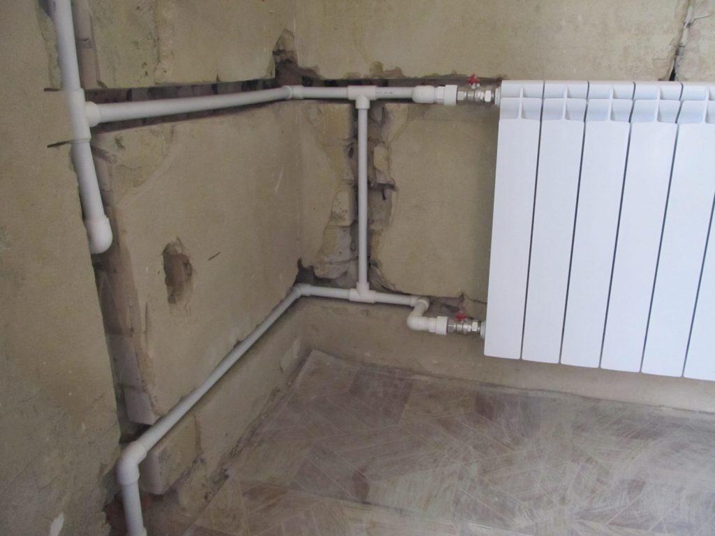 Уклон пластиковых труб отопления
