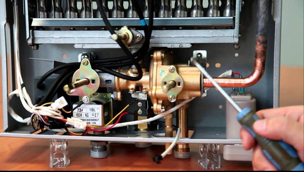 Принцип работы газового котла