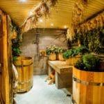 Деревенская русская баня
