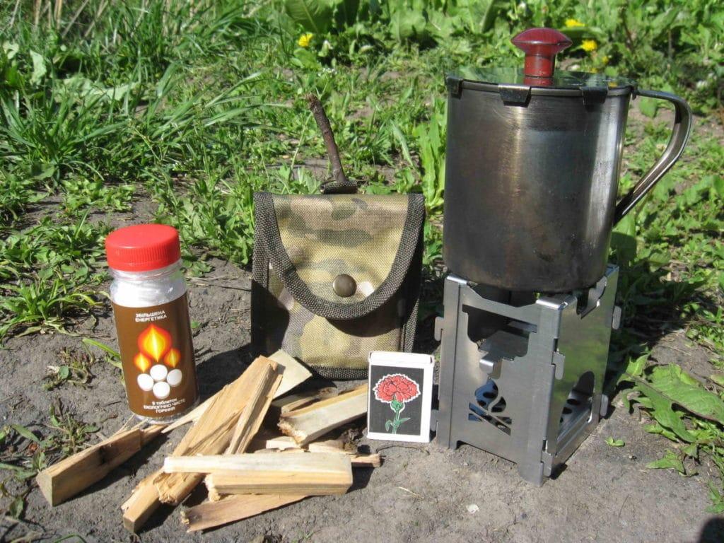 Портативная печь