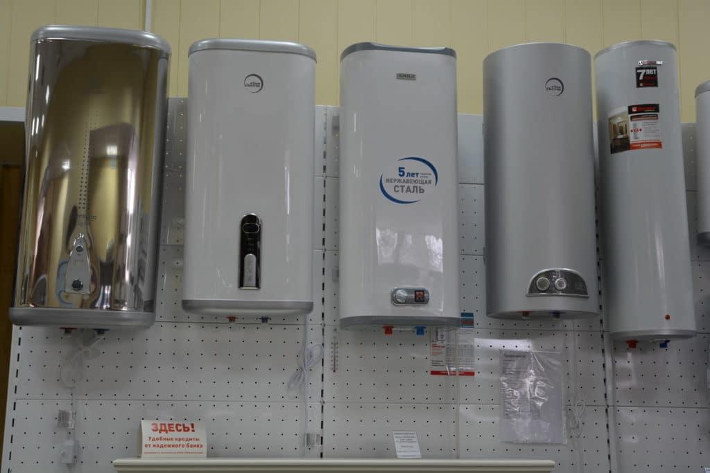 Разновидности водонагревателей