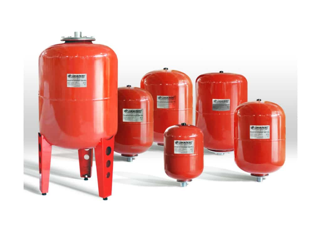 Расширительные баки для системы отопления