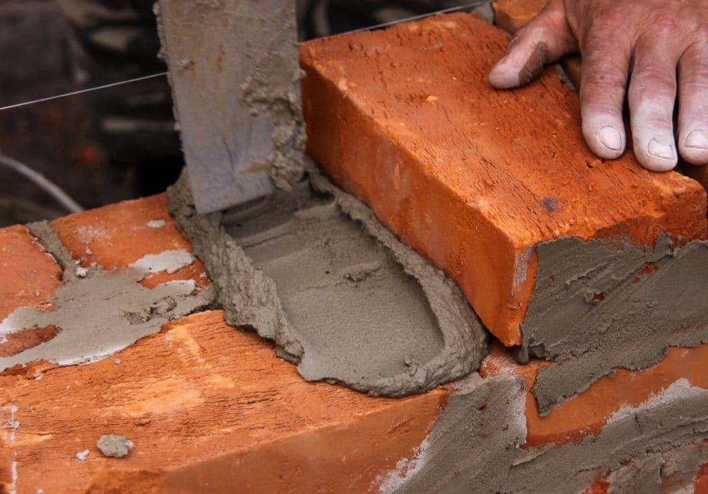 Заливка фундамента под камин