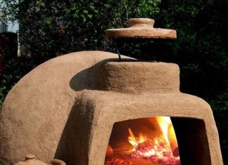 Создание печи для пиццы на дровах своими руками