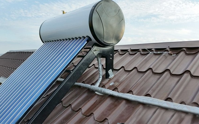 Схема работы солнечных коллекторов