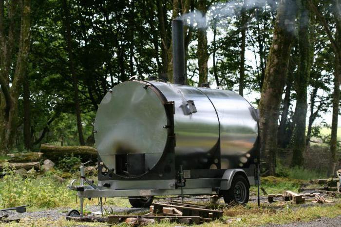 мобильная печь