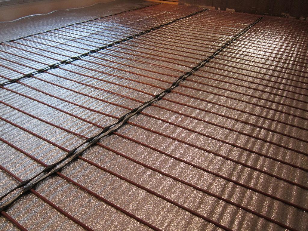 Теплый пол электрический: инфракрасный, кабельный и стержневой