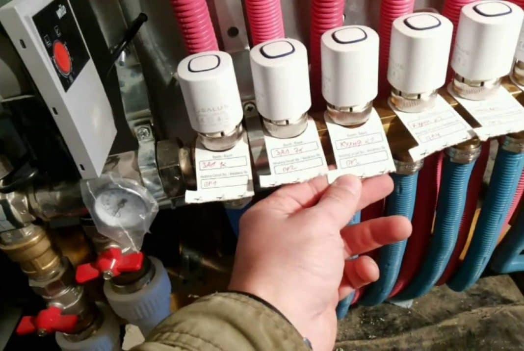 Расходомеры теплого пола на подаче или обратке