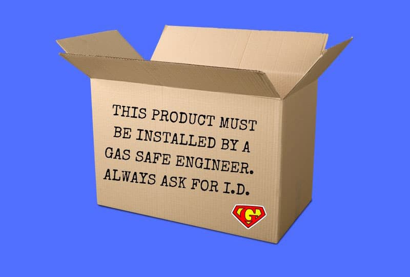Упаковка для котлов отопления будет иметь предупредительные  надписи