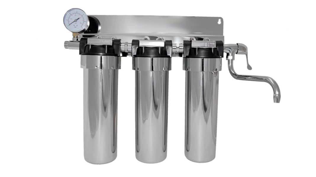 Фильтр для воды на газовый котел