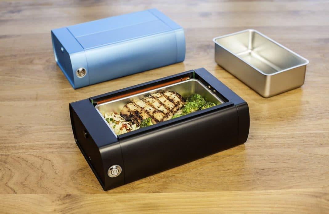 Портативная печь-контейнер для офиса – инновация от одесского инженера