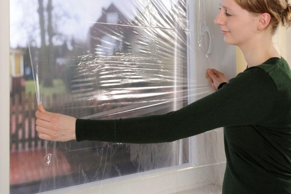 утепление окна