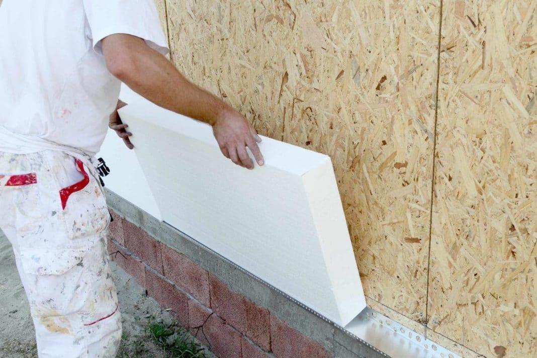 Утепление фасадов пенопластом технология отделки фасада утеплителем своими руками и какой марки плотности выбрать материал
