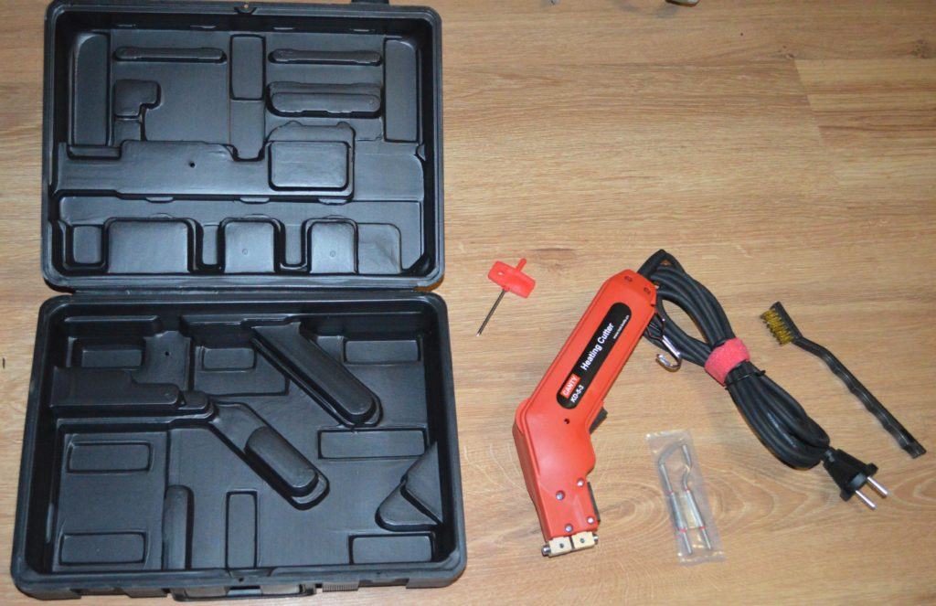 Термический нож - приспособление для резки пенопласта