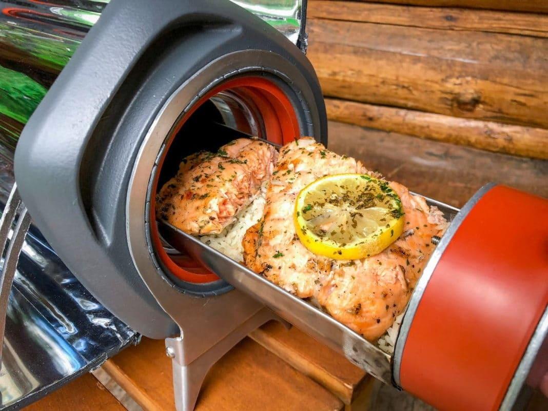 Быстрый способ приготовления еды на природе без розжига костра