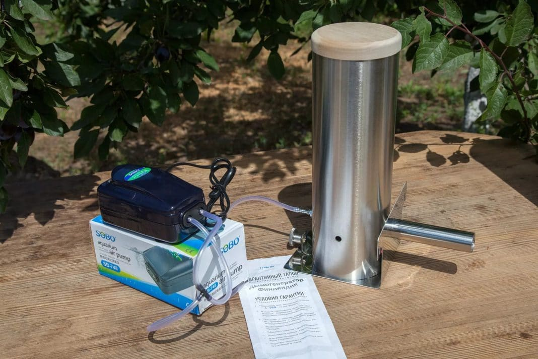Дымогенератор для коптильни