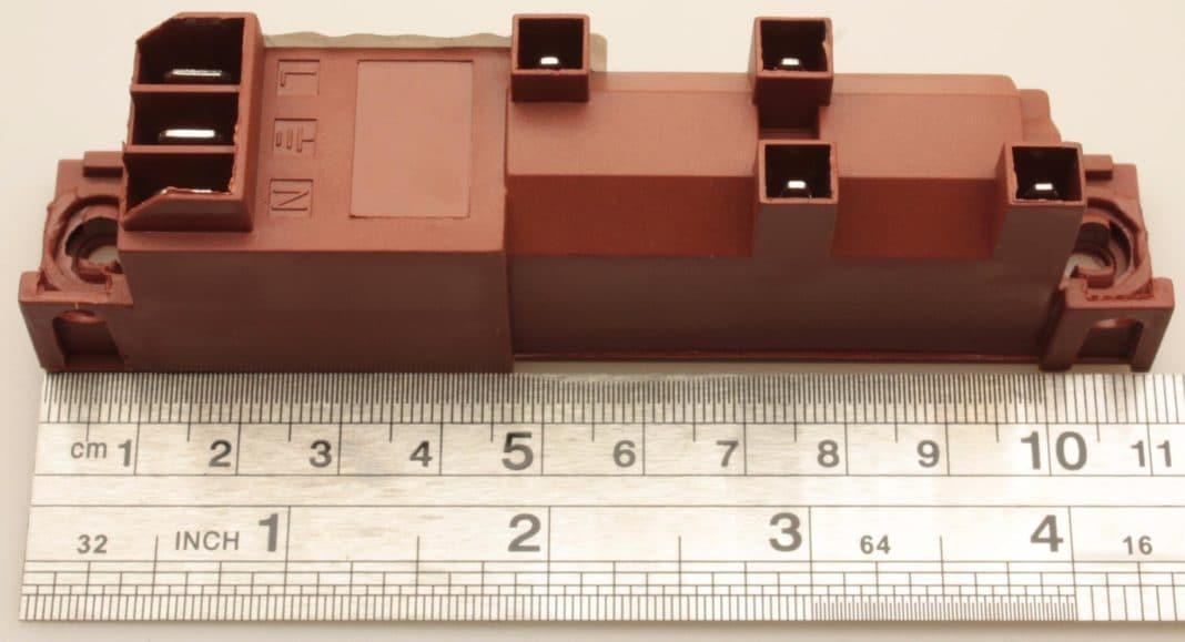 Блок электророзжига 6 контактов с заземлением